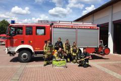 Atemschutzausbildung 2019 zweier Kameraden unserer Wehr in Oberasbach