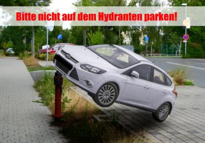 parken verboten hinter kreuzungen